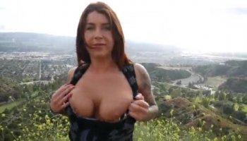 Hot ebon babe gets astounding pussyhammering